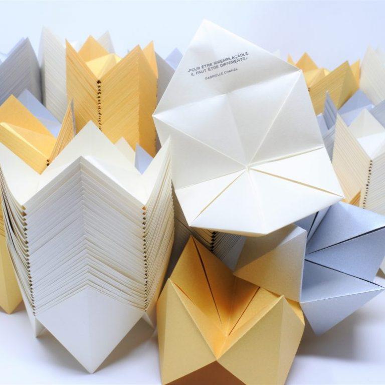 Cocotte papier Chanel joaillerie